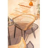 Zenta Esszimmerstuhl aus Rattan, Miniaturansicht 6