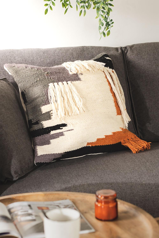 Kissenbezug aus Baumwolle Terrah, Galeriebild 1