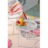 Neu Acapulco Weiß Tisch, Miniaturansicht 1