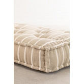 Doppelkissen für modulares Sofa aus Baumwolle Dhel Boho, Miniaturansicht 4