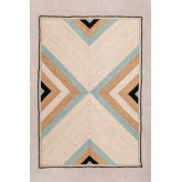 Natürlicher Juteteppich (245 x 160 cm) Saina, Miniaturansicht 1