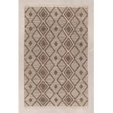 Teppich aus Baumwolle und Wolle (253x161 cm) Hiwa, Miniaturansicht 1