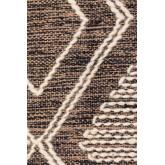 Teppich aus Baumwolle und Wolle (253x161 cm) Hiwa, Miniaturansicht 3
