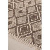 Teppich aus Baumwolle und Wolle (253x161 cm) Hiwa, Miniaturansicht 4