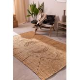 Geflochtener Teppich aus Jute natur (233x167 cm) Elaine, Miniaturansicht 1