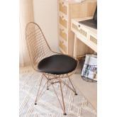 Stuhl BRICH metallisiert, Miniaturansicht 1