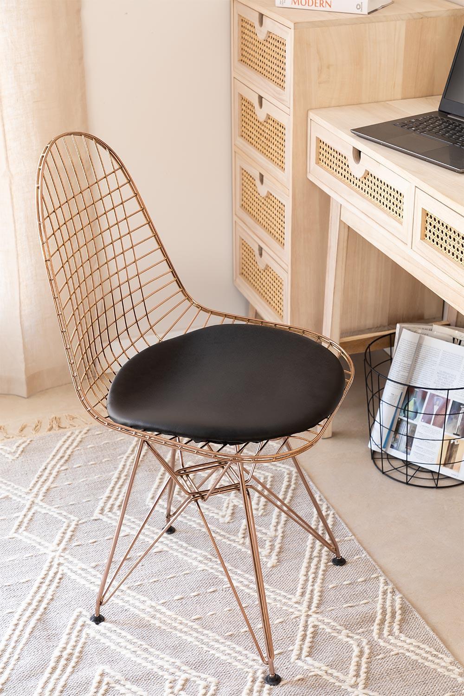 Stuhl BRICH metallisiert, Galeriebild 1