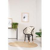 Ovaler natürlicher Juteteppich (140x100 cm) Tempo, Miniaturansicht 6
