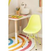 Stuhl Mini Scand Brich Kids matt , Miniaturansicht 1