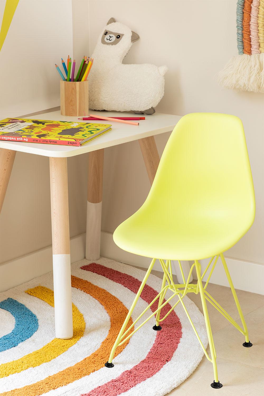 Stuhl Mini Scand Brich Kids matt , Galeriebild 1
