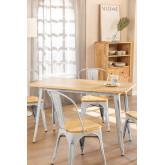 Tisch LIX Vintage Holz (120x60), Miniaturansicht 1