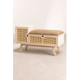 Holzbank mit Ralik Style, Miniaturansicht 2