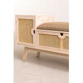 Holzbank mit Ralik Style, Miniaturansicht 3