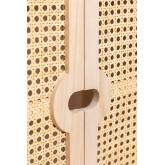 Holz Highboard mit 2 Regalen Ralik Style, Miniaturansicht 5
