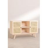 Ralik Style Holz Sideboard, Miniaturansicht 2