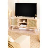 Holz-TV-Schrank im Ralik-Stil, Miniaturansicht 1