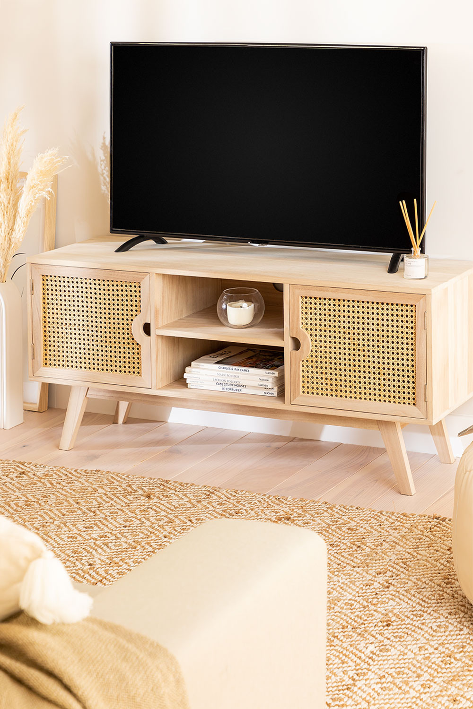 Holz-TV-Schrank im Ralik-Stil, Galeriebild 1