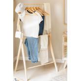 Set 6 Kleiderbügel Orig Holz, Miniaturansicht 6
