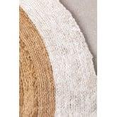 Runder natürlicher Juteteppich (Ø150 cm) Dagna, Miniaturansicht 2