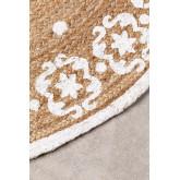 Runder natürlicher Juteteppich (Ø100 cm) Iglika, Miniaturansicht 2