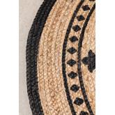Runder natürlicher Juteteppich (Ø100 cm) Tricia, Miniaturansicht 2
