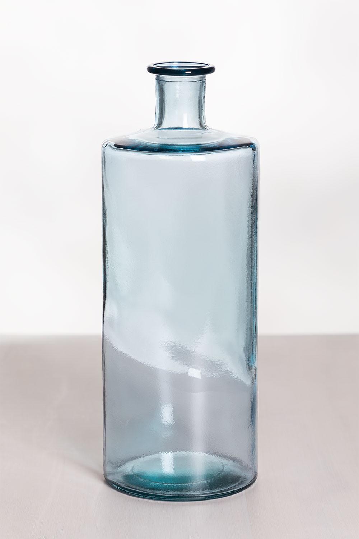 Vase aus recyceltem Glas 40,5 cm Pussa, Galeriebild 1