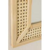 Rechteckiger Wandspiegel aus Holz (60x40 cm) Frey, Miniaturansicht 4