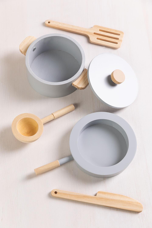 Küchenutensilien aus Holz Jatta Kids , Galeriebild 1