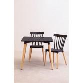 Royal Tischset (80x80) & 2 Royal Stühle, Miniaturansicht 1