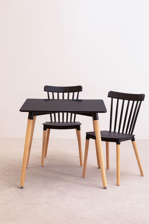 Royal Tischset (80x80) & 2 Royal Stühle, Galeriebild 1