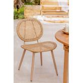Mity Synthetic Wicker Garden Chair, Miniaturansicht 1