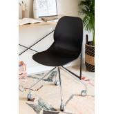 Bürostuhl Tech mit Rädern, Miniaturansicht 1