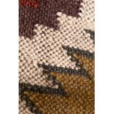 Quadratisches Baumwollkissen (45x45 cm) Isset, Miniaturansicht 4