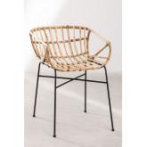 Stuhl in Rattan Cadza, Miniaturansicht 2
