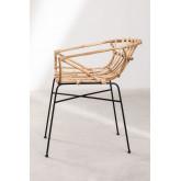 Stuhl in Rattan Cadza, Miniaturansicht 3