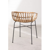 Stuhl in Rattan Cadza, Miniaturansicht 4