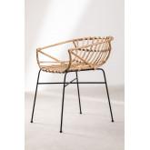 Stuhl in Rattan Cadza, Miniaturansicht 5