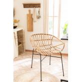 Stuhl in Rattan Cadza, Miniaturansicht 1