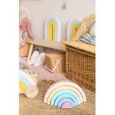 Regenbogen Bowy Kids aus Holz, Miniaturansicht 1