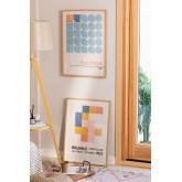 Set mit 2 Láminas Decorativas (50x70 cm) Auss, Miniaturansicht 5