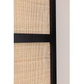 Varok Sichtschutz aus Rattan und Holz, Miniaturansicht 4