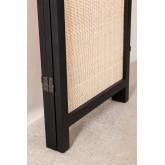 Varok Sichtschutz aus Rattan und Holz, Miniaturansicht 6