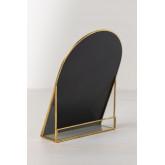 Tischspiegel aus Metall Lisbeth, Miniaturansicht 3