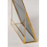 Tischspiegel aus Metall Lisbeth, Miniaturansicht 5