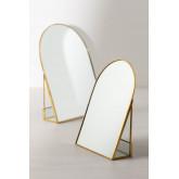 Tischspiegel aus Metall Lisbeth, Miniaturansicht 6