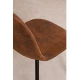 Stuhl aus Kunstleder Glamm, Miniaturansicht 4