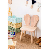 Buny Style Kinder Holzstuhl, Miniaturansicht 1
