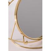 Tischspiegel aus Metall Lubin, Miniaturansicht 6