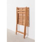 Gartentisch (60x60 cm) aus Nicola Teakholz, Miniaturansicht 5