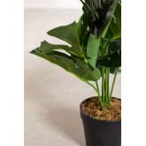 Monstera Dekorative Kunstpflanze, Miniaturansicht 3